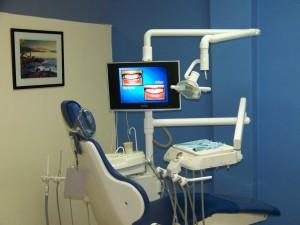 Et billede af en tandklinik